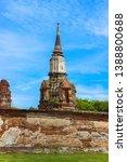ayutthaya province  thailand  ...   Shutterstock . vector #1388800688