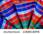 abstract plaid texture... | Shutterstock . vector #1388818898