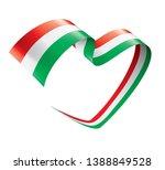 hungary flag  vector... | Shutterstock .eps vector #1388849528