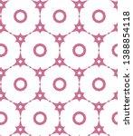 seamless vector pattern in... | Shutterstock .eps vector #1388854118