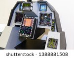electronic controls of the... | Shutterstock . vector #1388881508