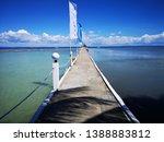 paradise in philippines cebu ... | Shutterstock . vector #1388883812