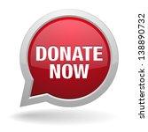 donate speech bubble | Shutterstock .eps vector #138890732
