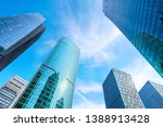 contemporary architectural... | Shutterstock . vector #1388913428