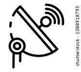 5g parabolic antenna icon.... | Shutterstock .eps vector #1388918795