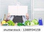 book recipes copy space. man...   Shutterstock . vector #1388934158