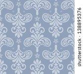 damask seamless pattern for... | Shutterstock .eps vector #138895376