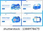 online academy or online... | Shutterstock .eps vector #1388978675