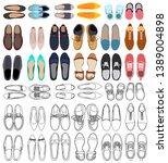 vector  isolated  set ... | Shutterstock .eps vector #1389004898