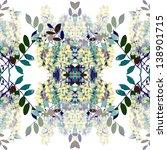 Seamless Pattern Of Acacia