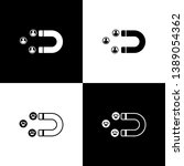 set customer attracting icon... | Shutterstock .eps vector #1389054362