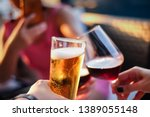 the concept of party and... | Shutterstock . vector #1389055148