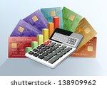 vector illustration of business ... | Shutterstock .eps vector #138909962