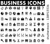 business and management icons | Shutterstock .eps vector #138915536