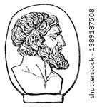 anacreon  he was a greek lyric... | Shutterstock .eps vector #1389187508