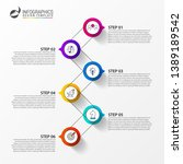 infographic design template.... | Shutterstock .eps vector #1389189542