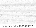close up of white old brick...   Shutterstock . vector #1389315698