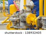 yellow gas pressure regulator...   Shutterstock . vector #138932405