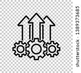 operation project icon in... | Shutterstock .eps vector #1389373685