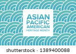 asian pacific american heritage ... | Shutterstock .eps vector #1389400088