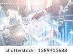 digital stock market.... | Shutterstock . vector #1389415688