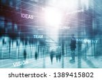 abstract business background.... | Shutterstock . vector #1389415802