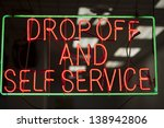 Drop Off And Self Service Neon...