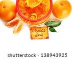 orange jam with zest and... | Shutterstock . vector #138943925
