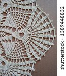 Vintage Crocheted Lace Doily...