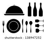 dinning icon | Shutterstock .eps vector #138947252