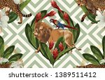 vintage beautiful and trendy... | Shutterstock . vector #1389511412
