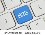 Blue B2b  Business To Business...
