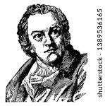 william blake  1757 1827  he...   Shutterstock .eps vector #1389536165