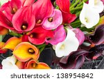 Calla Lily Flowers In Full...