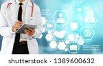 health insurance concept  ... | Shutterstock . vector #1389600632