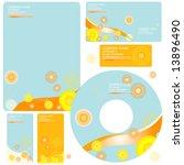 letterhead template design  ... | Shutterstock .eps vector #13896490