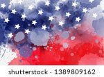 abstract background banner with ... | Shutterstock .eps vector #1389809162