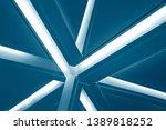 double exposure of lighting... | Shutterstock . vector #1389818252