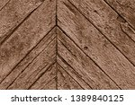 close up of old brown wall made ... | Shutterstock . vector #1389840125