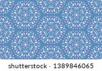 colorful leaves pattern.... | Shutterstock .eps vector #1389846065