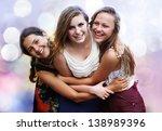 students girls having fun | Shutterstock . vector #138989396
