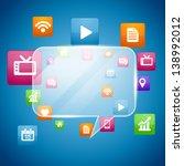 vector social media concept... | Shutterstock .eps vector #138992012