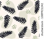 seamless repeating pattern with ... | Shutterstock .eps vector #1389921242
