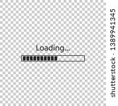 loading icon isolated on... | Shutterstock . vector #1389941345
