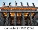 juarez theater  guanajuato ... | Shutterstock . vector #138999062