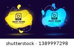 black raw file document icon....   Shutterstock .eps vector #1389997298