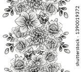 abstract elegance seamless... | Shutterstock . vector #1390019372