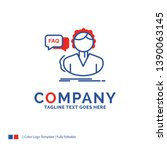 company name logo design for... | Shutterstock .eps vector #1390063145