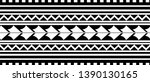 tribal pattern tattoo ... | Shutterstock .eps vector #1390130165