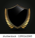 luxury label design.royal logo... | Shutterstock .eps vector #1390162085